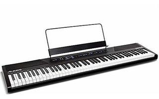 Piano Digital Para Principiantes De 88 Teclas De Alesis Con