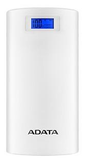 Adata Ap20000d-dgt-5v-cwh Batería Recargable, 2 X Usb 2.0,