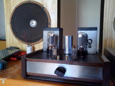 Amplificador Valvular 9w + 9w Con 6l6 Nuevo