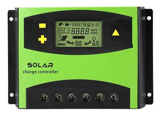 Controlador De Carga Painel Solar 50a Regulador 12v 640w 24v