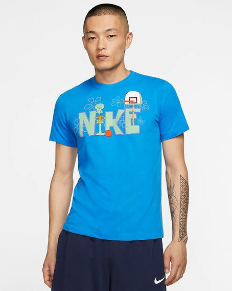 Playera Nike Kyrie Squidward 100% Original