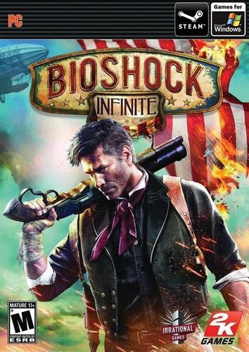 Bioshock Infinite Pc Original + Español + Online Cdkey Steam