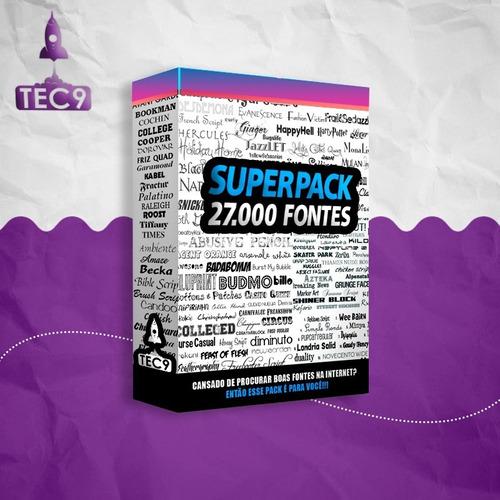 Megapack De Fontes Para Tipografia E Webdesing