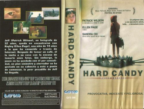 Hard Candy Vhs Patrick Wilson Ellen Page Terror Vhs Sin Caja