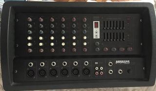 Consola Potencia American Pro M 406 Como Nueva