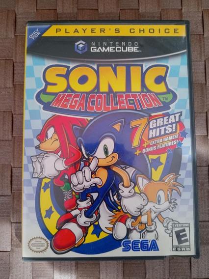 Sonic Mega Collection Nintendo Gamecube Wii Original