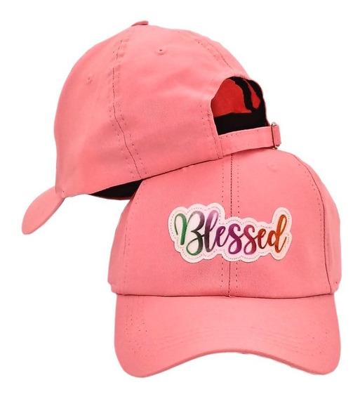Boné Dad Hat Blessed Aba Curva Fitão Strapback Varias Cores