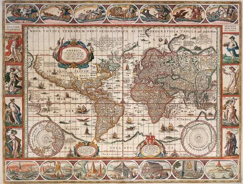 Rompecabezas Ravensburger X 2000 Piezas - Mapamundi 1650