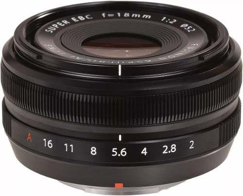 Lente Fuji Fujifilm Xf 18mm R F/2 P/ Xpro2 Xt2 Xt20 Xh1