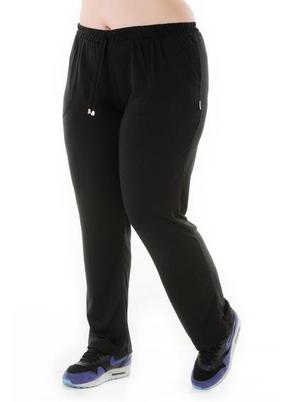Pantalones De Modal Con Bolsillos Xl Al 3xl Talles Grandes