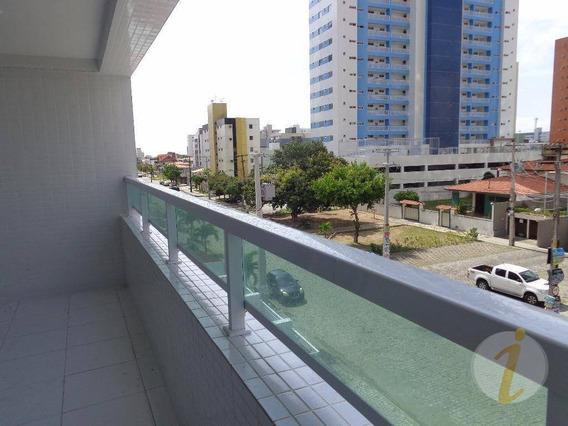 Apartamento Residencial Para Locação, Bessa, João Pessoa. - Ap5696