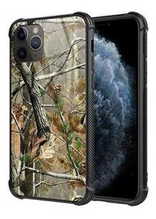 iPhone 11 Pro Funda,realtree Xtra Green Camo Pattern Design