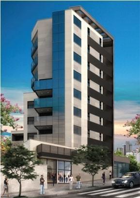 Apartamento Com 1 Quartos Para Comprar No Santo Agostinho Em Belo Horizonte/mg - 1659
