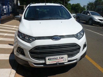 Ford / Ecosport 1.6 Freestyle Flex Único Dono + Automática