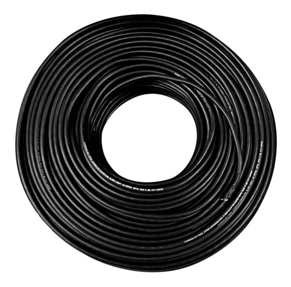 Cable Condulac Thw-ls/thhw-ls 90° Negro #12 Awg 100 Mts