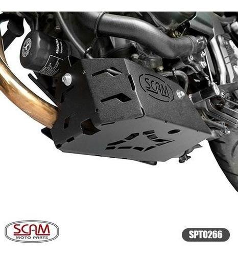 Imagem 1 de 5 de Protetor Carter Honda Cb500x 2018+ Scam Spto266