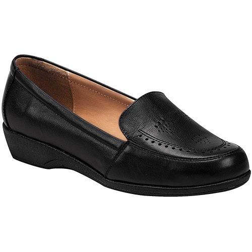 50799b6f Udt Zapatos Mocasines Niñas Negro Comodisimos Piel 1667 - $ 578.00 en Mercado  Libre