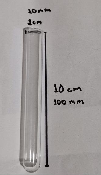 Tubos De Ensaye De 10x100mm (30 Piezas)
