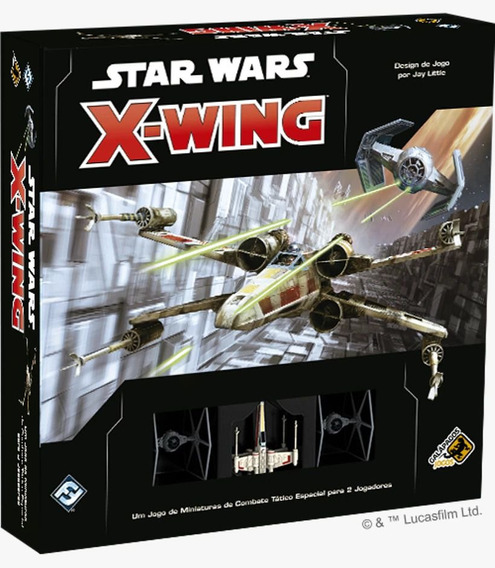 Star Wars X Wing 2.0 Jogo Base Galapagos Swz001
