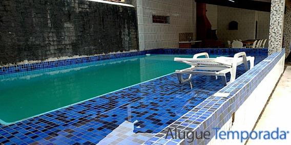 Casa C/ Piscina, Churrasqueira A 150m Praia Indaiá Bertioga