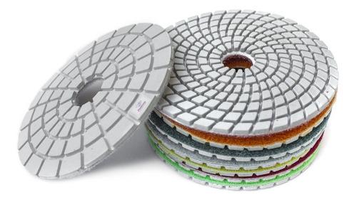 7 Lixas Diamantadas Vidro Mármore Concreto Piso Granilite