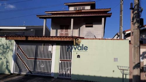 Casa Com 3 Dormitórios À Venda, 190 M²  - Villa Branca - Jacareí/sp - Ca1129