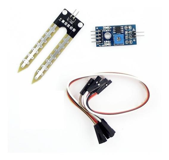 Sensor De Humedad Del Suelo Higrometro Cdmx Electrónica