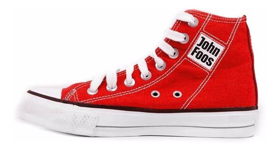 Zapatillas Botita John Foos 184 Rojo