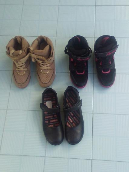 Zapatos Botas Pavita Niña 34
