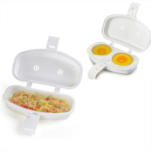 Forma Para Ovos E Omelete Para Microondas Plasútil