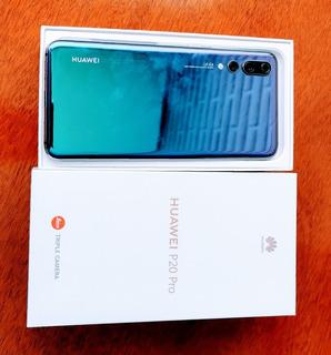 Celular Huawei P20 Pro 128 Gb Novíssimo!!!
