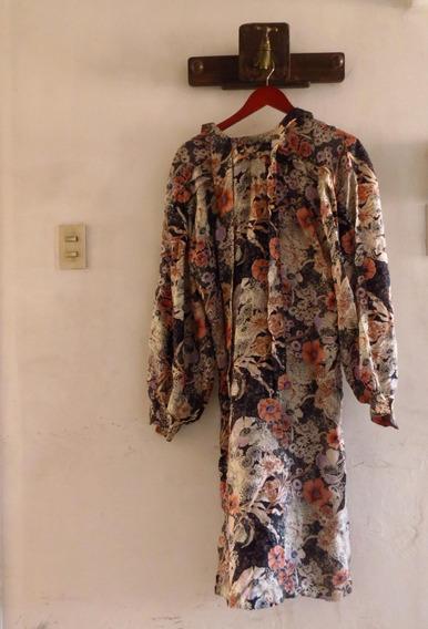 Vestido De Seda Natural Pierre Cardin