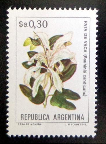Argentina Flores Sello Gj 2102 A $a 0,30 Fluor 83 Mint L9778