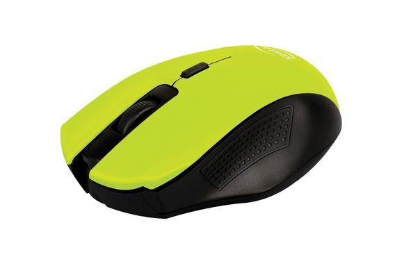 Mouse Sem Fio Citrus Verde Mo204 1600dpi Usb Nano Newlink