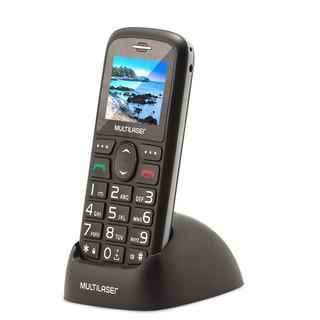 Celular Vita Com Base Recarregável P9089 Preto