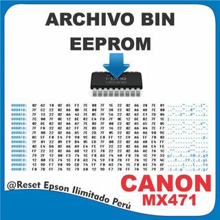 Bin Canon - Mx471