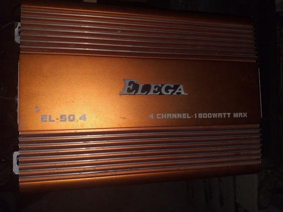 Amplificador Elega 1800 4 Canales