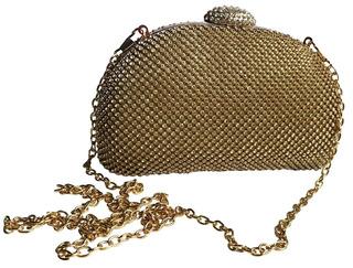 Bolsa Clutch Brilhante Com Alça Removivel Ref 220