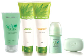 Kit De Beleza Herbalife Soft Green Frete Grátis 12x S/ Juros