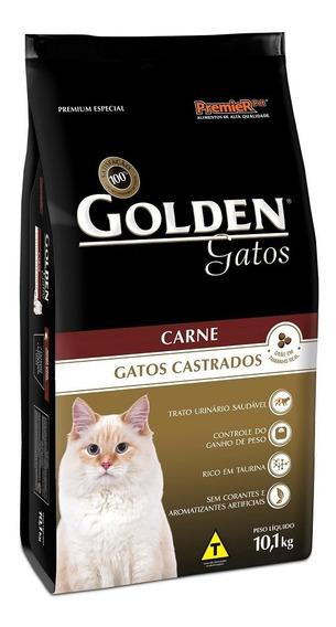 Ração Golden Gato Castrado Carne 10,1kg