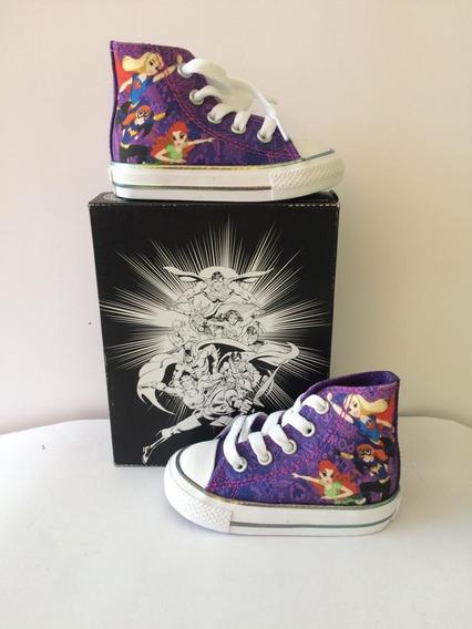 Converse Para Niñas Originales (modelo Superhero Girls)
