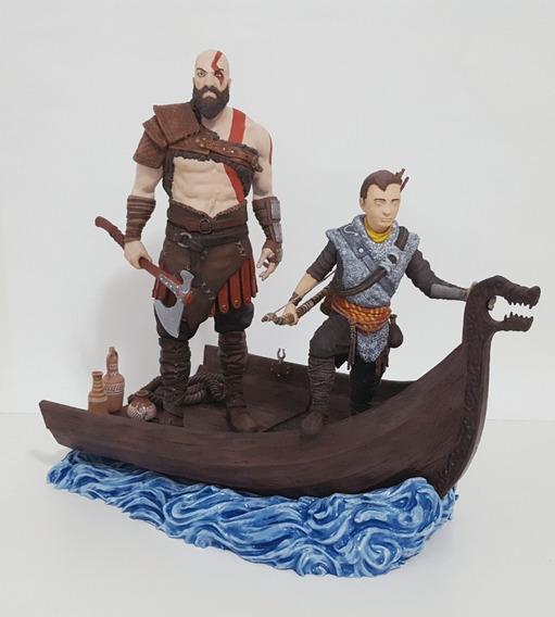God Of War Diorama Completo ( Isi 3d )