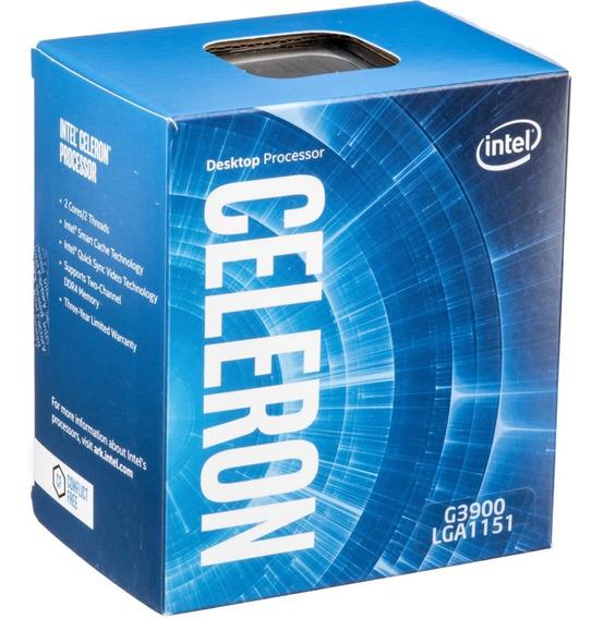 Proc Intel Celeron G3900 2.8ghz Lga 1151 Bx80662g3900