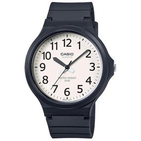 Lote 10 Relojes Casio De Manecillas Con Carátula Blanca