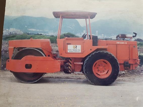 Vibrocompactador Hamm Modelo Hwhw 2301s Año 1986