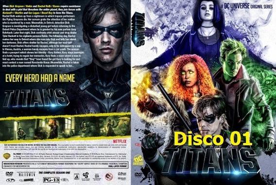 Dvd - Titans - 1º Temporadas - Legendado