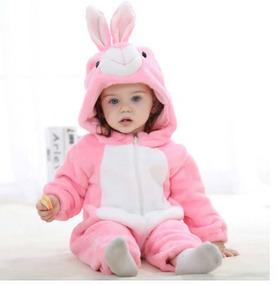 Pijama Fantasia Bichinho Infantil Urso Panda Tigre Stich C/z
