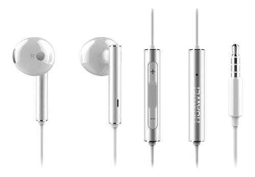 Audífonos Huawei Am116 Metálicos Blancos