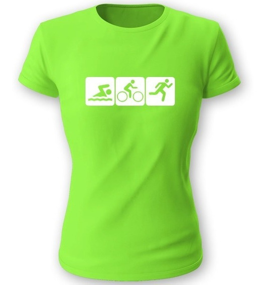 Playera Koyi 701 Triathlon Triatlon Talla S M L Xl Dama