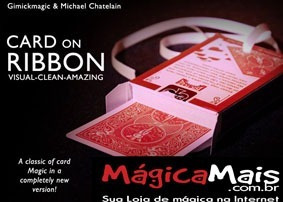 Magíca Card On Ribbon - Carta Na Fita Mick